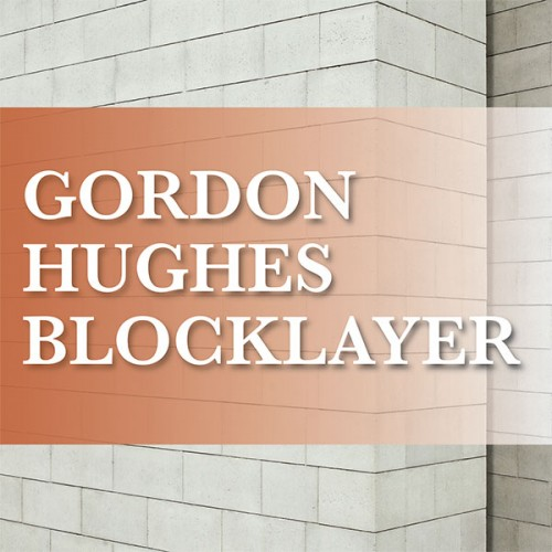 Gordon Hughes Blocklayer - Kilanerin