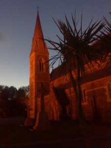Kilanerin Saint Peter & Paul Church at Night