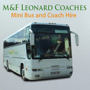 M&F Leonard Coaches: Mini Bus & Coach Hire - Kilanerin