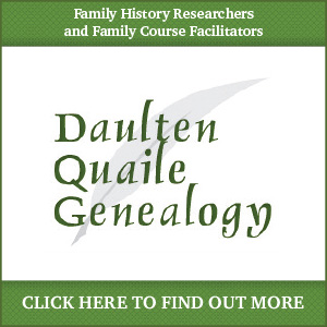 Daulten Quaile Genealogy Family history research - Kilanerin, Wexford, Wicklow