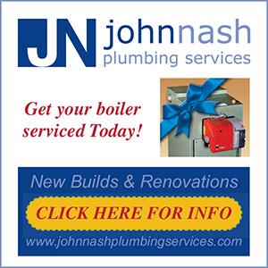 John Nash Plumbing & Heating - Bolier service - Kilanerin, Wexford, Wicklow