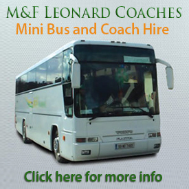 M&F Leonard Mini Bus & Coach Hire - Kilanerin Coolgreany Wexford