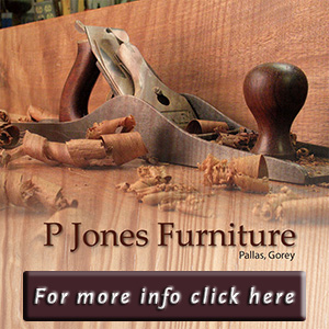 Pat Jones Furniture Maker & Carpenter - Kilanerin Wexford