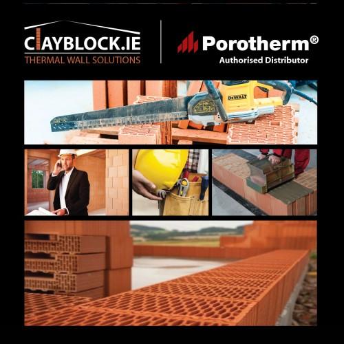 Clayblock Porotherm Poroton